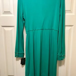 Vince Camuto Dresses - Vince Camuto green dress sz 10 w/tags